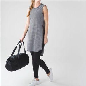 Lululemon Breeze By Tunic Dress Tank Stripe